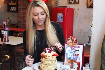 kate ovens pancake challenge