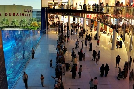 the making of dubai mall