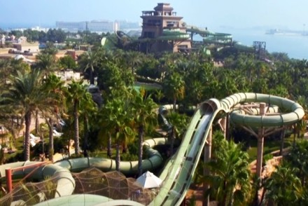 Dubai's Largest Waterpark Aquaventure