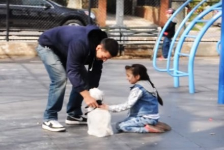 Social Experiment Abducting a Child