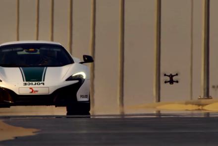 drone vs mclaren dubai