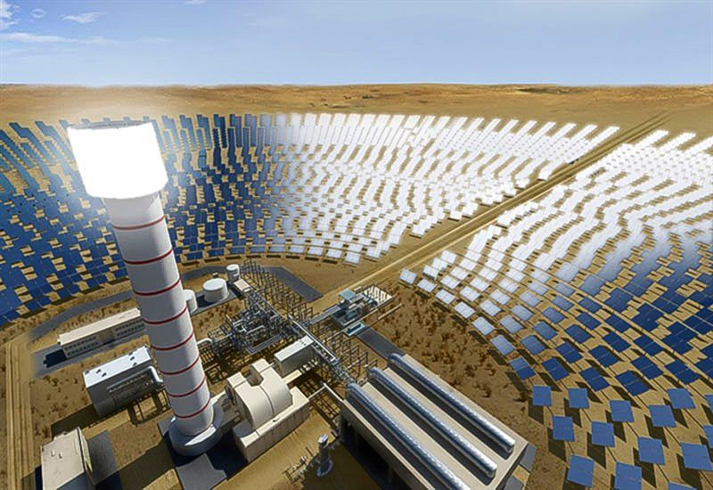 solar power project dubai