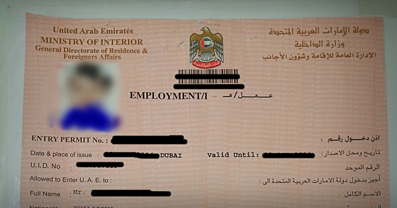 How To Apply For An Employment Visa In Uae Dubai Viral