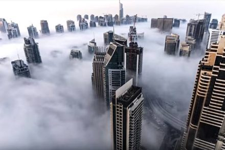 uae timelapse video