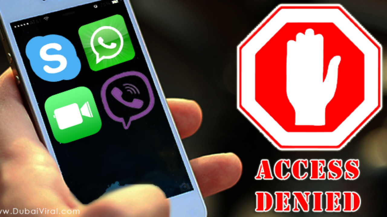Skype, WhatsApp, Facetime, Viber Voice Calling Services Blocked in