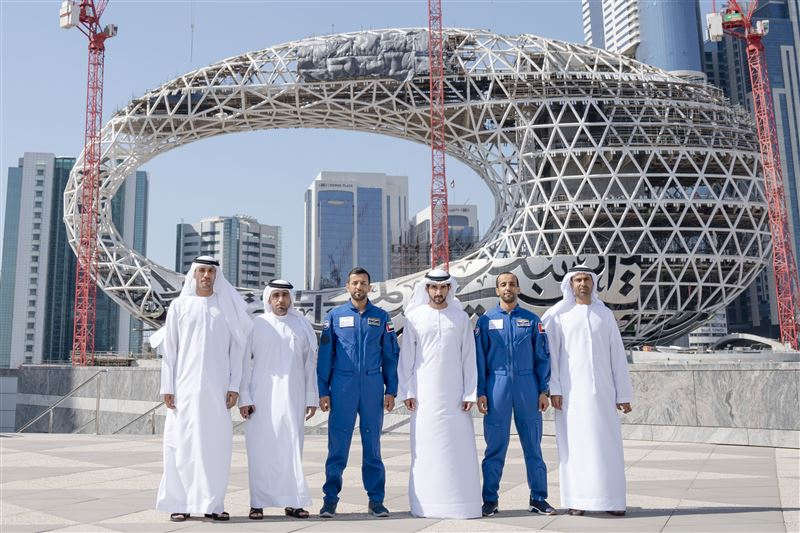 astronauts sheikh hamdan