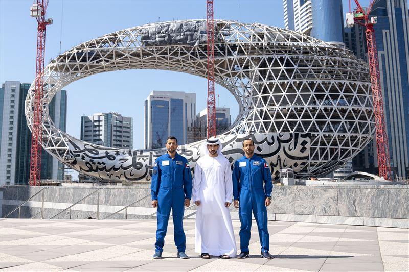 sheikh hamdan astronauts
