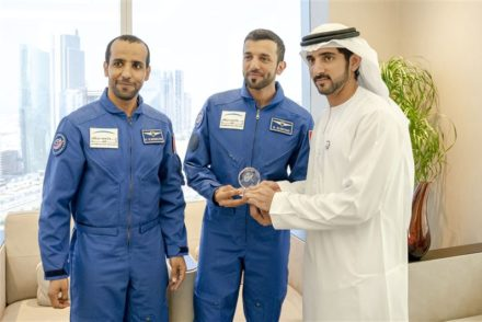 sheikh hamdan uae astronauts